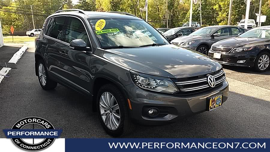 Used 2016 Volkswagen Tiguan in Wilton, Connecticut | Performance Motor Cars. Wilton, Connecticut
