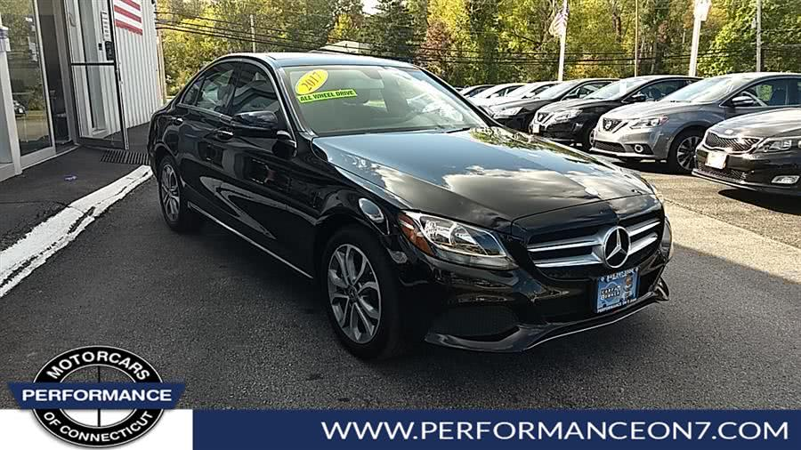 Used Mercedes-Benz C-Class C 300 4MATIC Sedan with Luxury Pkg 2017 | Performance Motor Cars. Wilton, Connecticut