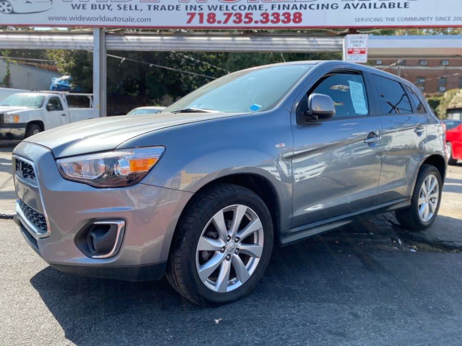 2014 Mitsubishi Outlander Sport AWD 4dr CVT ES, available for sale in Brooklyn, NY