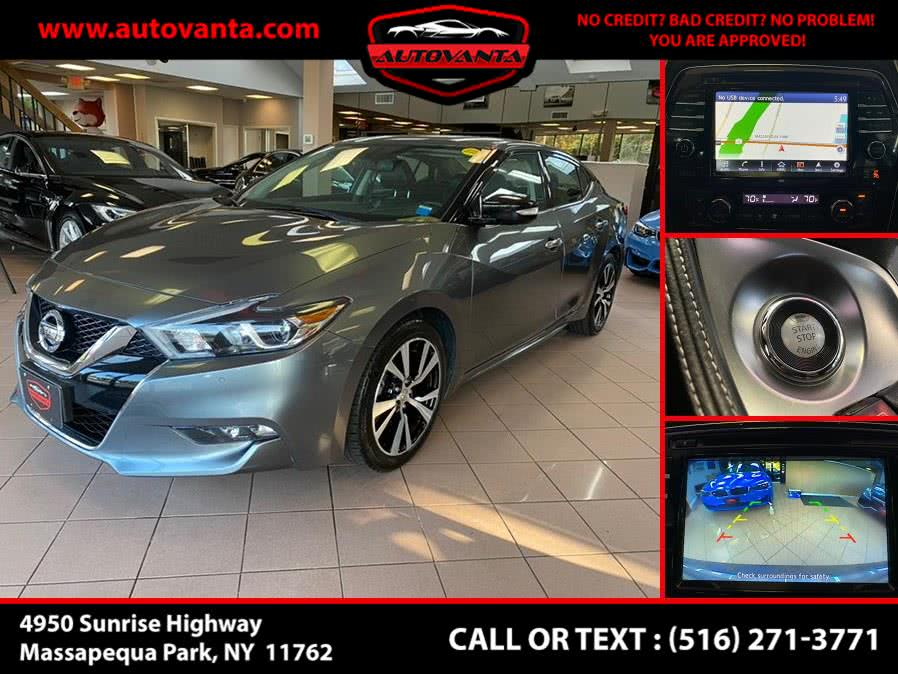 Used 2018 Nissan Maxima in Massapequa Park, New York | Autovanta. Massapequa Park, New York