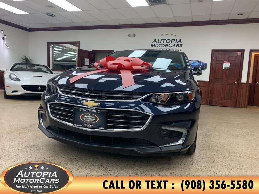 Used Chevrolet Malibu 4dr Sdn LT w/1LT 2017 | Autopia Motorcars Inc. Union, New Jersey
