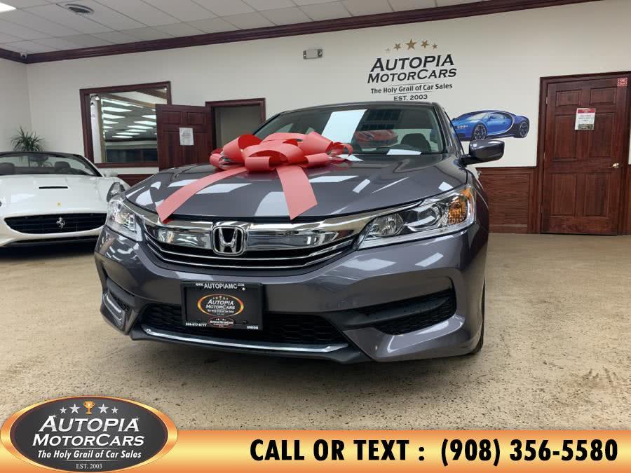 Used Honda Accord Sedan LX CVT 2017 | Autopia Motorcars Inc. Union, New Jersey