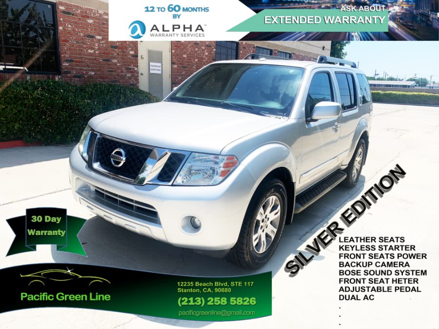 Used Nissan Pathfinder 2WD 4dr V6 Silver Edition 2011 | Pacific Green Line. Stanton, California