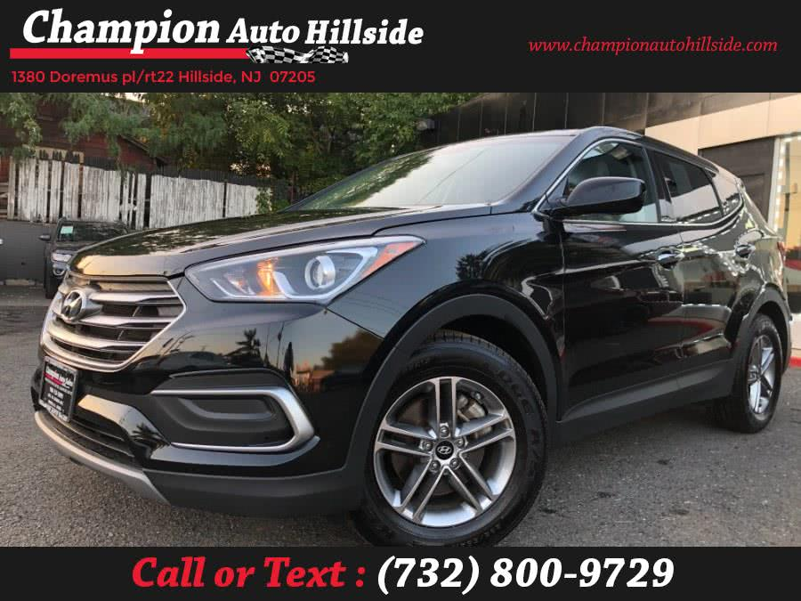 Used 2018 Hyundai Santa Fe Sport in Hillside, New Jersey | Champion Auto Hillside. Hillside, New Jersey