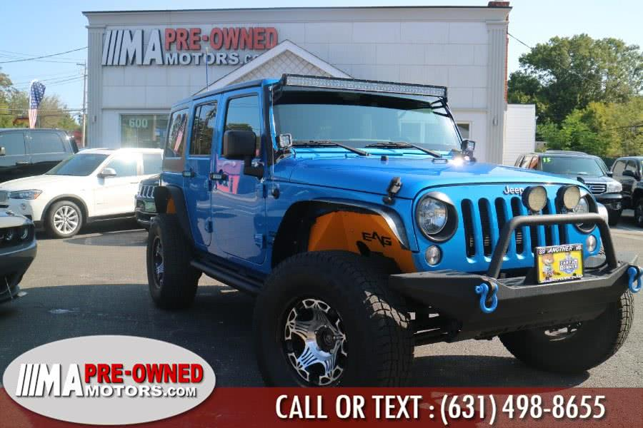 Used 2015 Jeep Wrangler Unlimited in Huntington, New York | M & A Motors. Huntington, New York