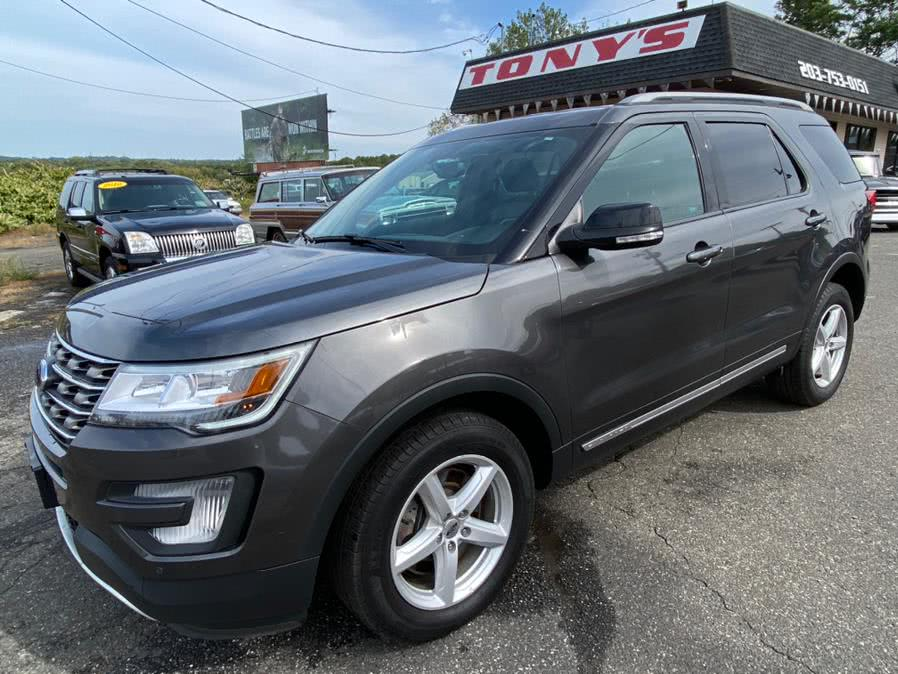 Used Ford Explorer XLT 4WD 2017 | Tony's Auto Sales. Waterbury, Connecticut