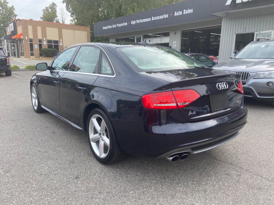 2012 Audi A4 4dr Sdn Auto quattro 2.0T Premium Plus, available for sale in New Milford, CT