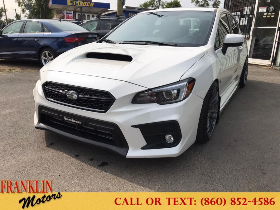 Used 2018 Subaru WRX in Hartford, Connecticut | Franklin Motors Auto Sales LLC. Hartford, Connecticut