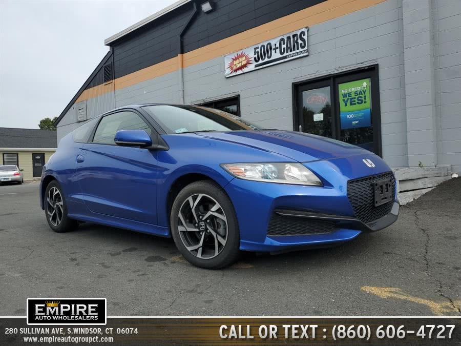 Used 2016 Honda CR-Z in S.Windsor, Connecticut | Empire Auto Wholesalers. S.Windsor, Connecticut