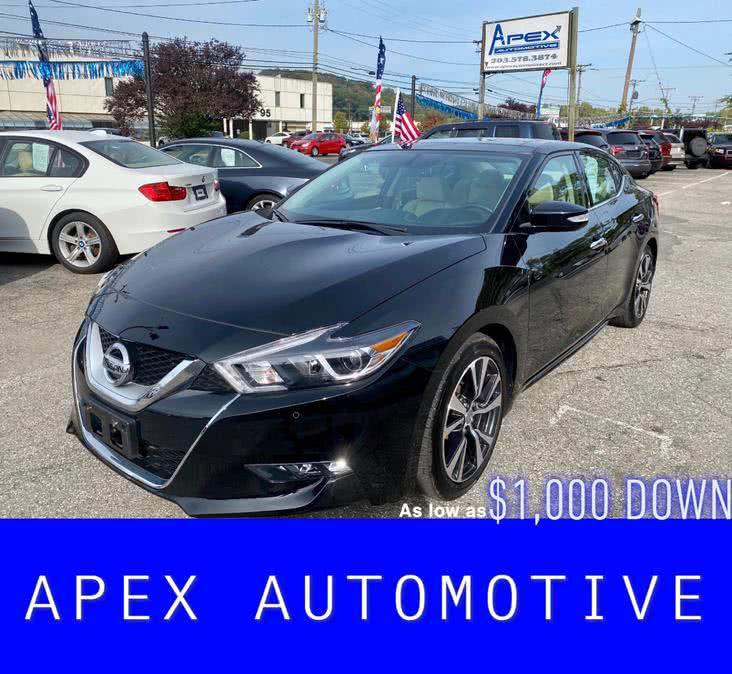 Used 2017 Nissan Maxima in Waterbury, Connecticut | Apex  Automotive. Waterbury, Connecticut