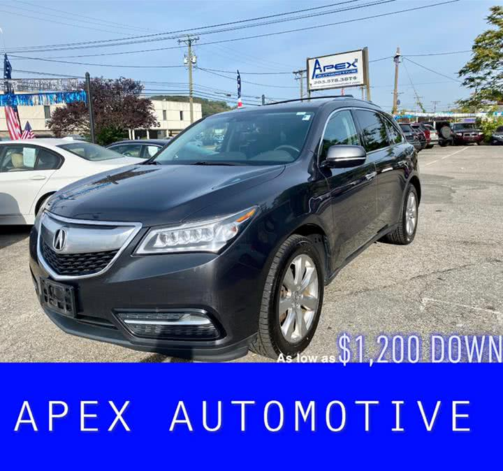 Used 2014 Acura MDX in Waterbury, Connecticut | Apex  Automotive. Waterbury, Connecticut