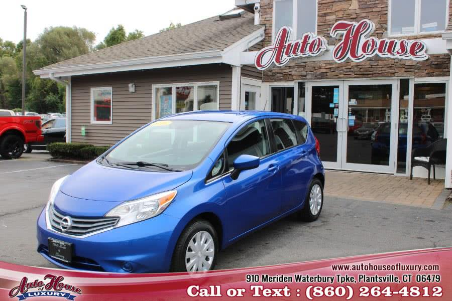 Used Nissan Versa Note 5dr HB CVT 1.6 SV 2016 | Auto House of Luxury. Plantsville, Connecticut