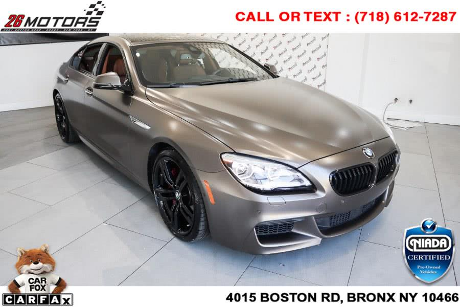 Used BMW 6 Series ///M Sport Package 650i xDrive Gran Coupe 2018   26 Motors Corp. Bronx, New York
