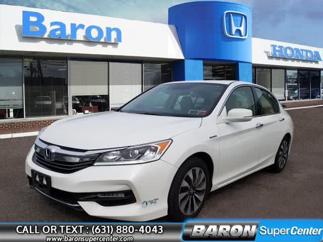 Used 2017 Honda Accord Hybrid in Patchogue, New York | Baron Supercenter. Patchogue, New York