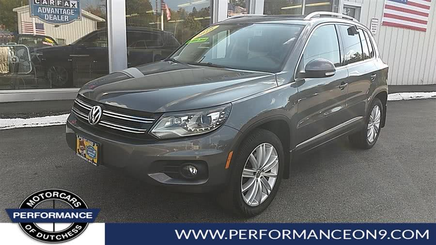 Used 2016 Volkswagen Tiguan in Wappingers Falls, New York | Performance Motorcars Inc. Wappingers Falls, New York