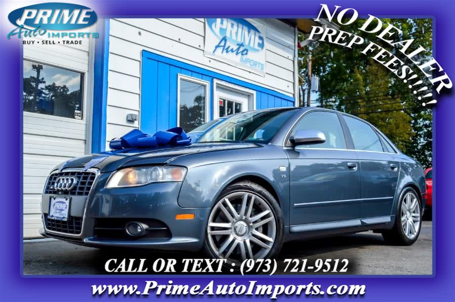 Used 2007 Audi S4 in Bloomingdale, New Jersey | Prime Auto Imports. Bloomingdale, New Jersey