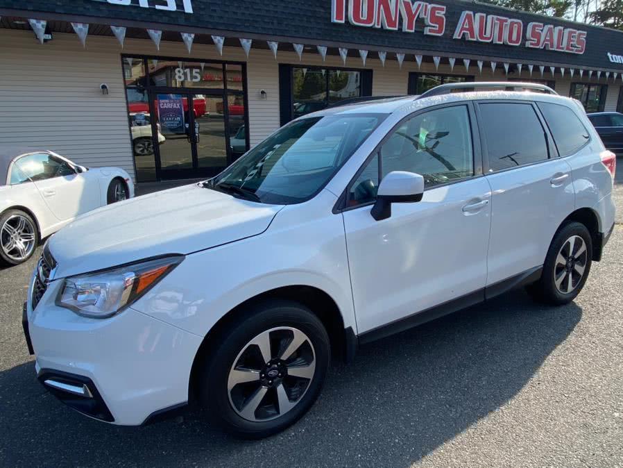 Used Subaru Forester 2.5i Premium CVT 2017 | Tony's Auto Sales. Waterbury, Connecticut