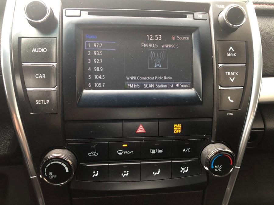 Used Toyota Camry 4dr Sdn SE 2016 | Bristol Auto Center LLC. Bristol, Connecticut