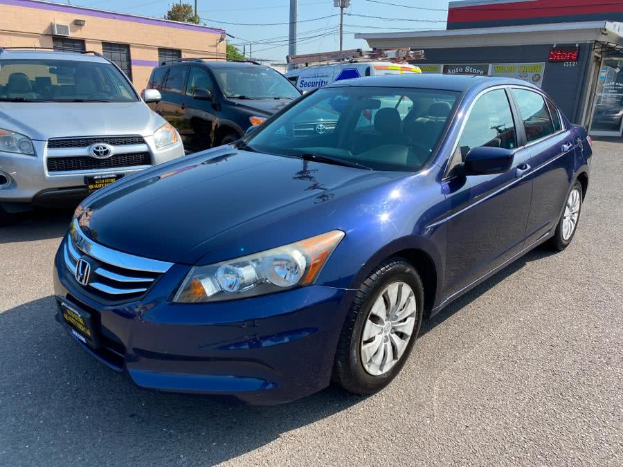 Used Honda Accord Sdn 4dr I4 Auto LX PZEV 2012 | Auto Store. West Hartford, Connecticut
