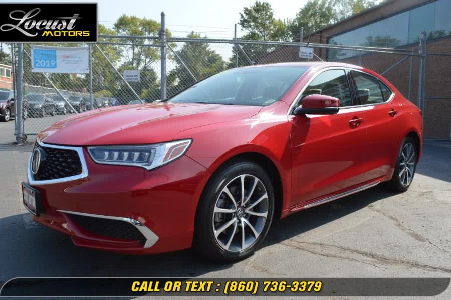 Used 2018 Acura TLX in Hartford, Connecticut | Locust Motors LLC. Hartford, Connecticut