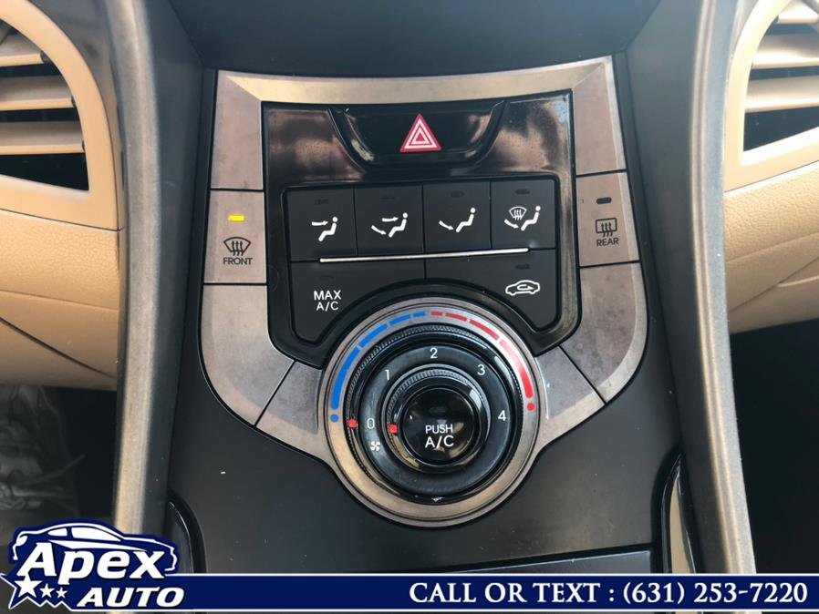 Used Hyundai Elantra 4dr Sdn Man GLS 2013 | Apex Auto. Selden, New York