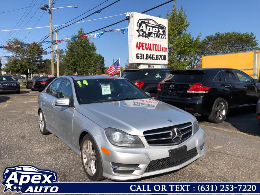 Used Mercedes-Benz C-Class 4dr Sdn C300 Luxury 4MATIC 2014 | Apex Auto. Selden, New York