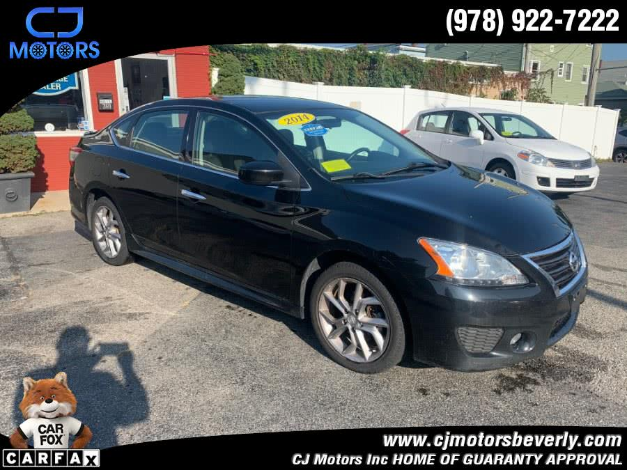 Used 2014 Nissan Sentra in Beverly, Massachusetts | CJ Motors Inc. Beverly, Massachusetts