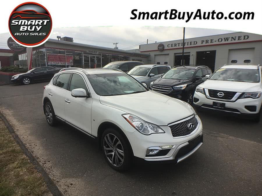 Used INFINITI QX50 AWD 4dr 2016 | Smart Buy Auto Sales, LLC. Wallingford, Connecticut
