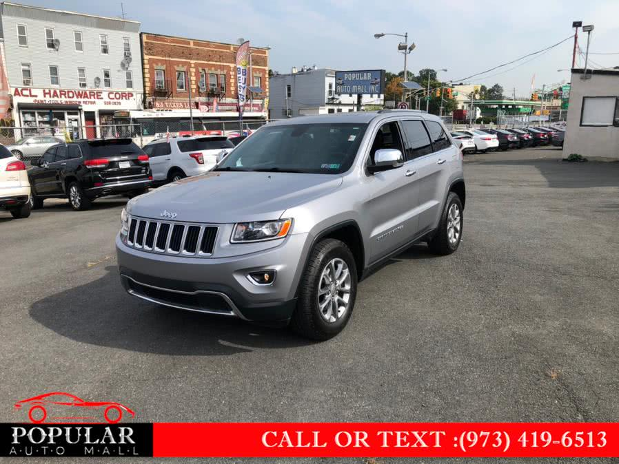 Used 2015 Jeep Grand Cherokee in Newark , New Jersey | Popular Auto Mall Inc . Newark , New Jersey