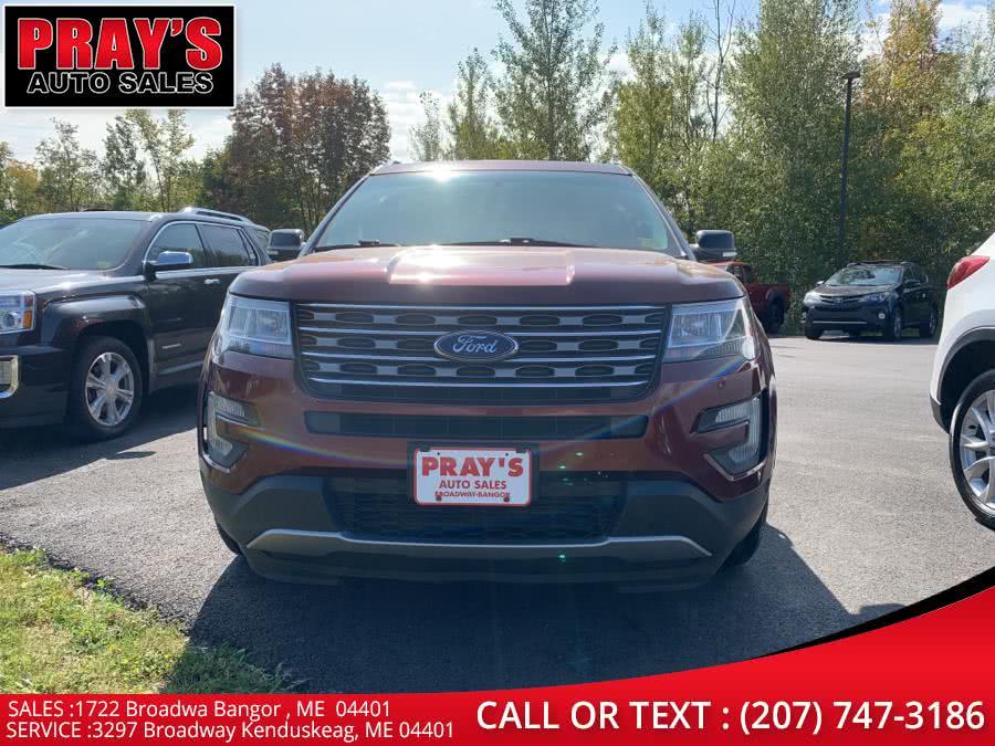 Used Ford Explorer FWD 4dr XLT 2016   Pray's Auto Sales . Bangor , Maine