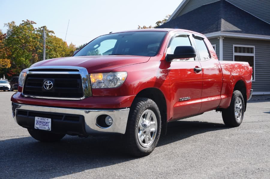 Used Toyota Tundra 4WD Truck Double Cab 4.6L V8 6-Spd AT (Natl) 2013 | Rockland Motor Company. Rockland, Maine