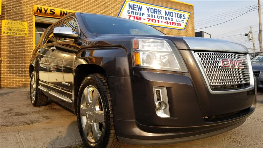 Used 2015 GMC Terrain in Bronx, New York | New York Motors Group Solutions LLC. Bronx, New York