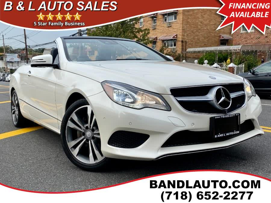 Used 2014 Mercedes-Benz E-Class in Bronx, New York | B & L Auto Sales LLC. Bronx, New York