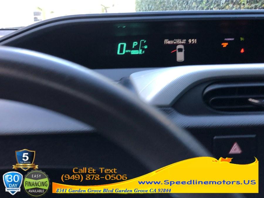 Used Toyota Prius c 5dr HB Two (Natl) 2012   Speedline Motors. Garden Grove, California
