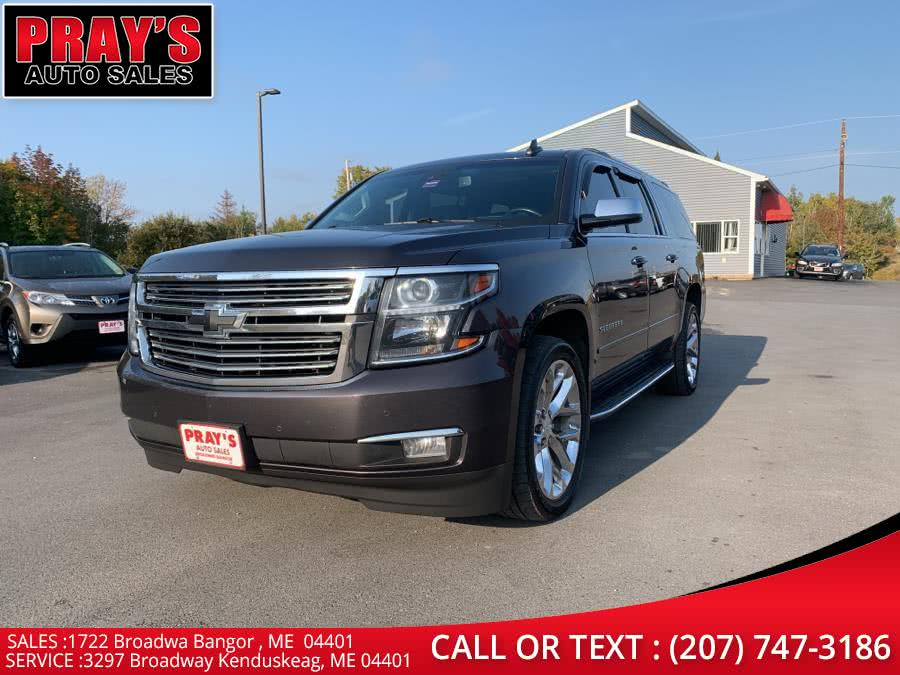 Used 2017 Chevrolet Suburban in Bangor , Maine | Pray's Auto Sales . Bangor , Maine