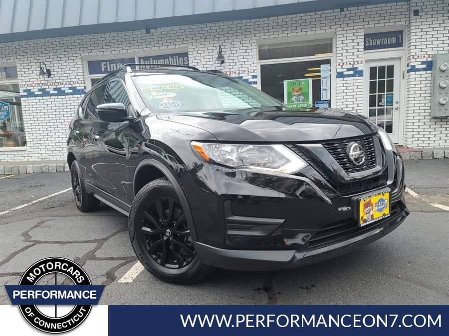 Used Nissan Rogue AWD SV 2018 | Performance Motor Cars. Wilton, Connecticut