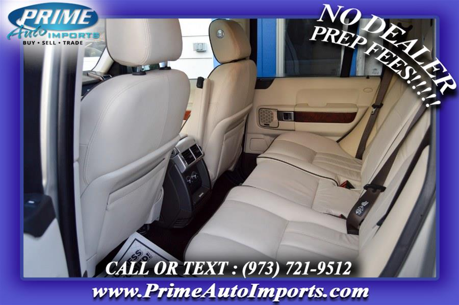 Used Land Rover Range Rover 4WD 4dr HSE 2010 | Prime Auto Imports. Bloomingdale, New Jersey