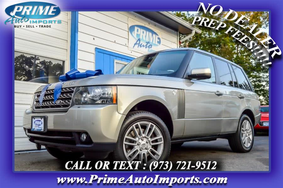 Used 2010 Land Rover Range Rover in Bloomingdale, New Jersey | Prime Auto Imports. Bloomingdale, New Jersey