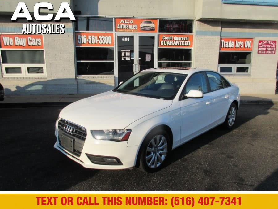 Used 2014 Audi A4 in Lynbrook, New York | ACA Auto Sales. Lynbrook, New York