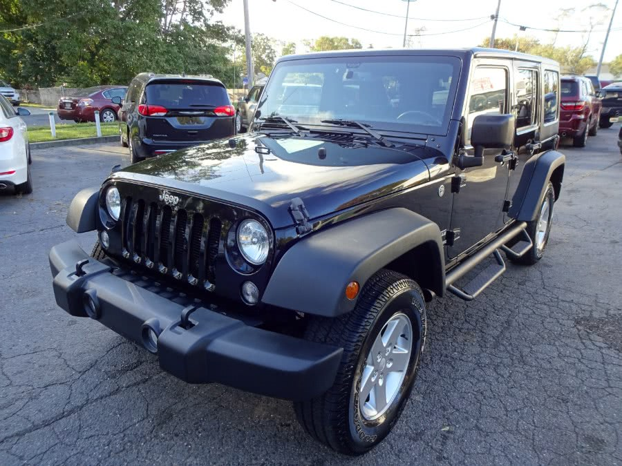 Used Jeep Wrangler Unlimited 4WD 4dr Sport 2016 | Mint Auto Sales. Islip, New York