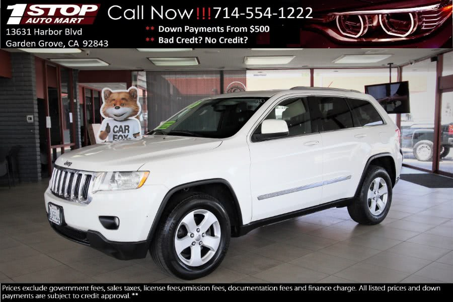 Used Jeep Grand Cherokee RWD 4dr Laredo 2012 | 1 Stop Auto Mart Inc.. Garden Grove, California