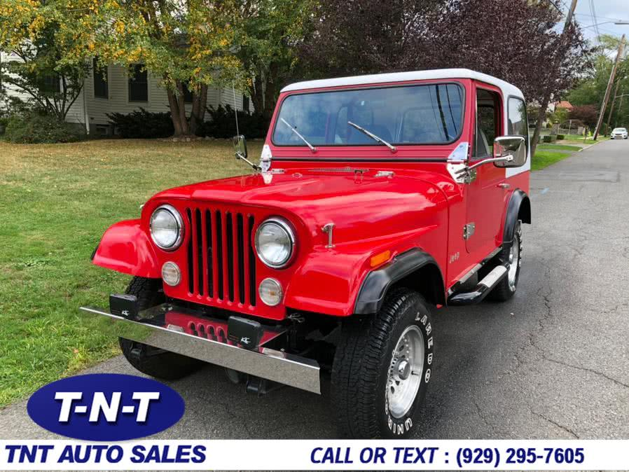 Used 1984 Jeep CJ 4WD in Bronx, New York | TNT Auto Sales USA inc. Bronx, New York