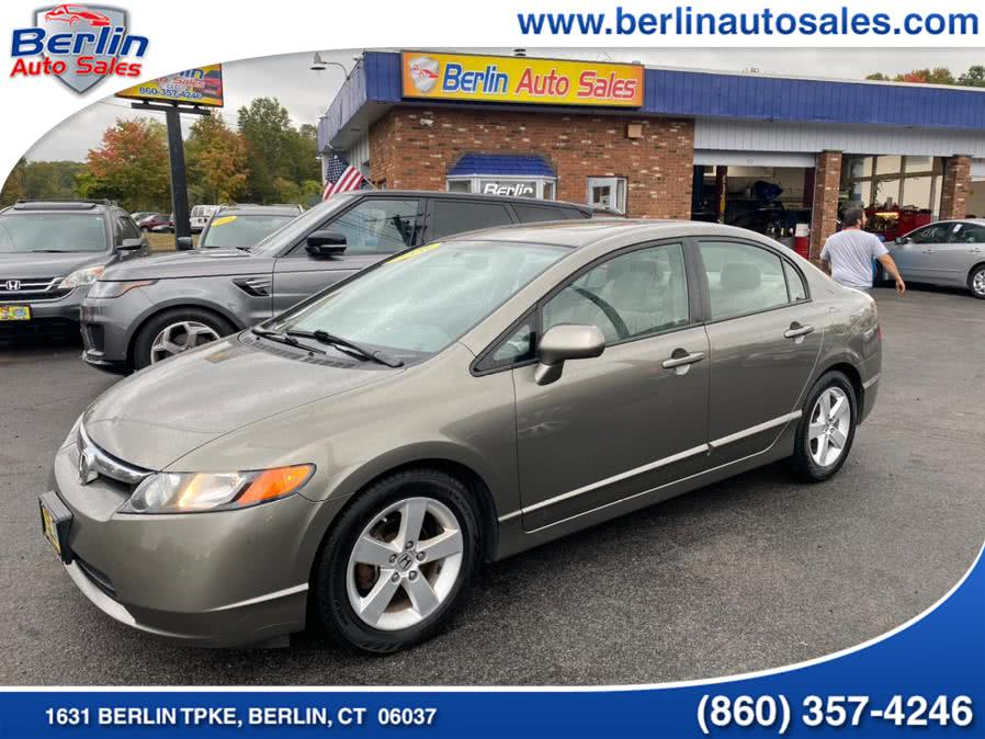 Used 2008 Honda Civic Sdn in Berlin, Connecticut | Berlin Auto Sales LLC. Berlin, Connecticut