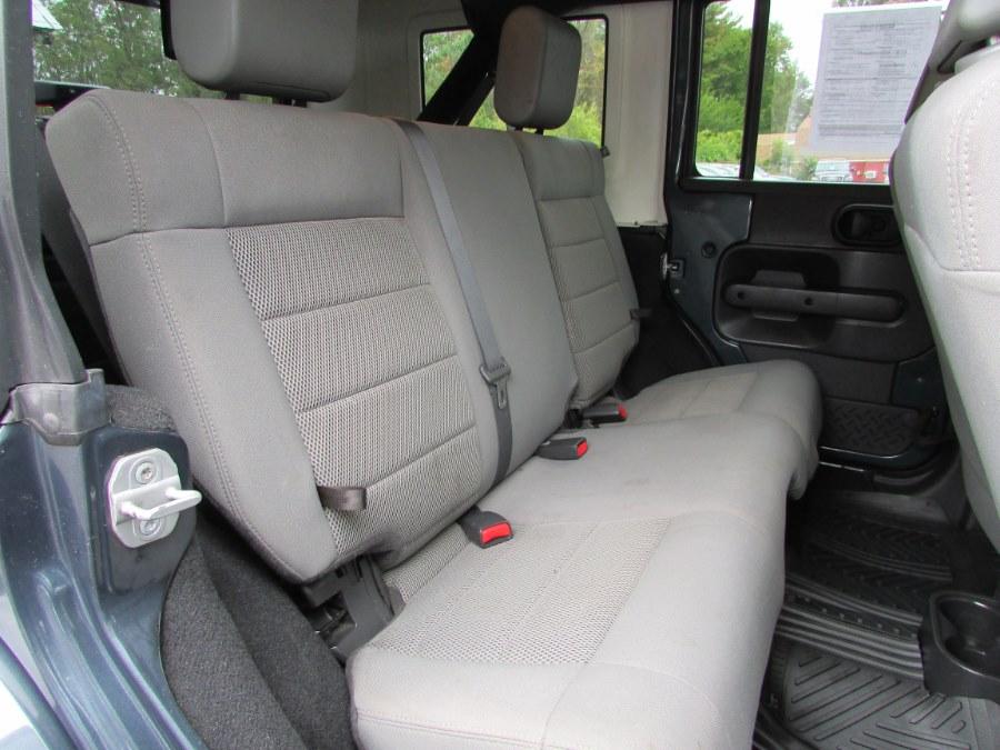 Used Jeep Wrangler 4WD 4dr Unlimited Sahara 2008 | United Auto Sales of E Windsor, Inc. East Windsor, Connecticut