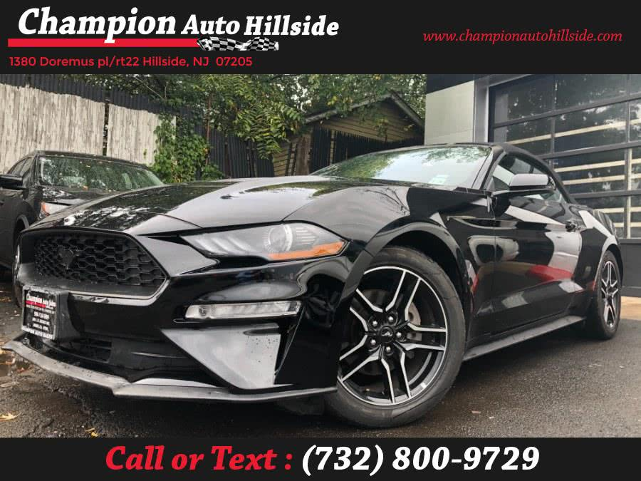 Used 2019 Ford Mustang in Hillside, New Jersey | Champion Auto Hillside. Hillside, New Jersey