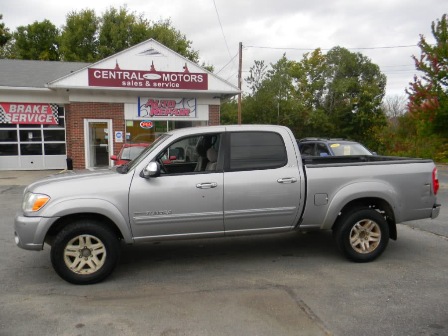 Used Toyota Tundra DoubleCab V8 SR5 4WD 2005 | M&M Vehicles Inc dba Central Motors. Southborough, Massachusetts