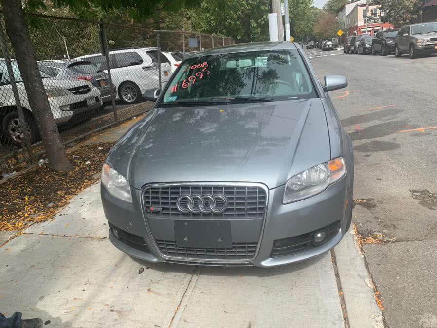 Used 2008 Audi A4 in Brooklyn, New York | Atlantic Used Car Sales. Brooklyn, New York