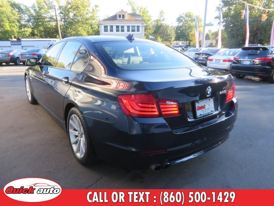 Used BMW 5 Series 4dr Sdn 528i xDrive AWD 2012   Quick Auto LLC. Bristol, Connecticut