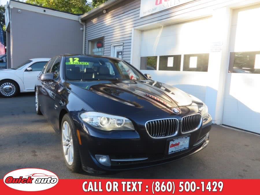 Used 2012 BMW 5 Series in Bristol, Connecticut | Quick Auto LLC. Bristol, Connecticut