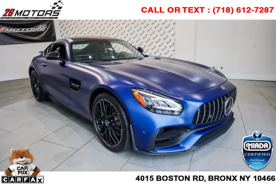 Used Mercedes-Benz AMG GT AMG GT Coupe 2020 | 26 Motors Corp. Bronx, New York